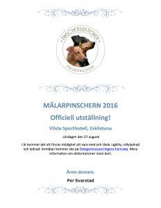 Inbjudan MP 2016
